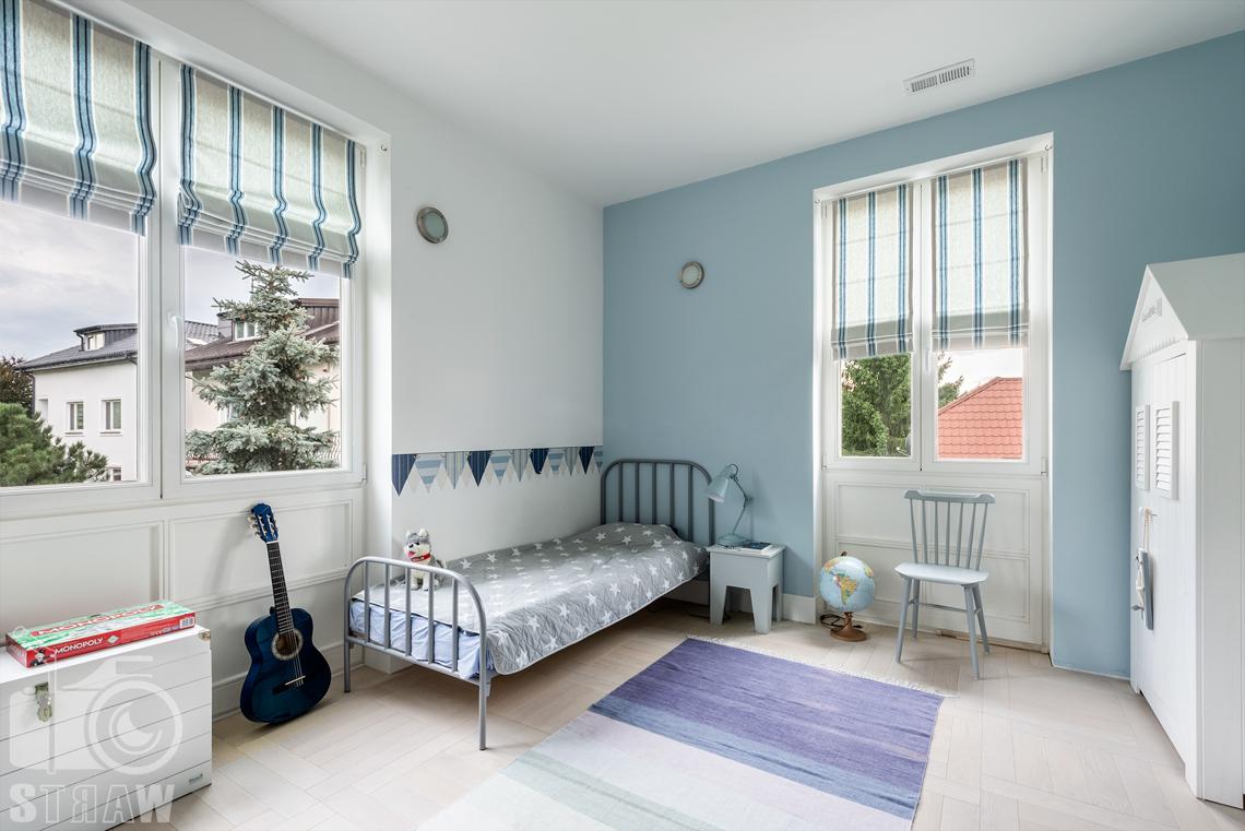 Zdjęcia domu, fotografie nieruchomości na wynajem, zdjęcie pokoju chłopca.
