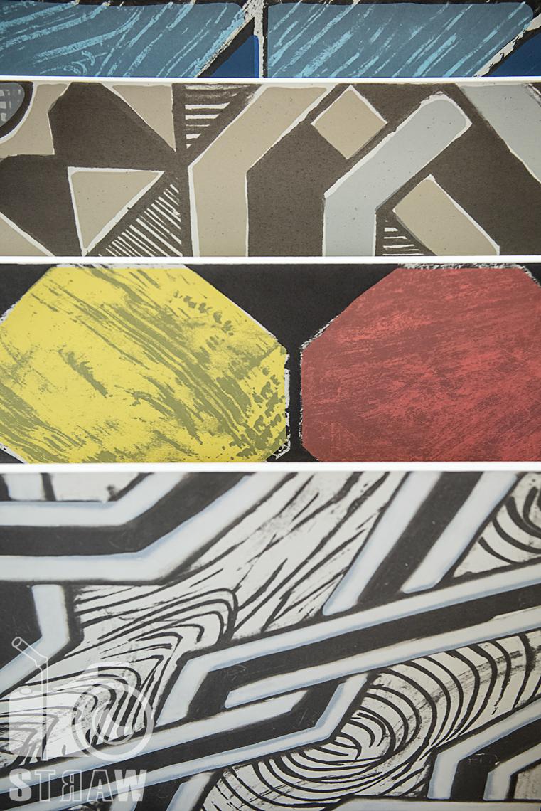 Fotografie z targów wyposażenia wnętrz Warsaw Home, relacja fotograficzna, unikalne płytki handh tiles mosaic.