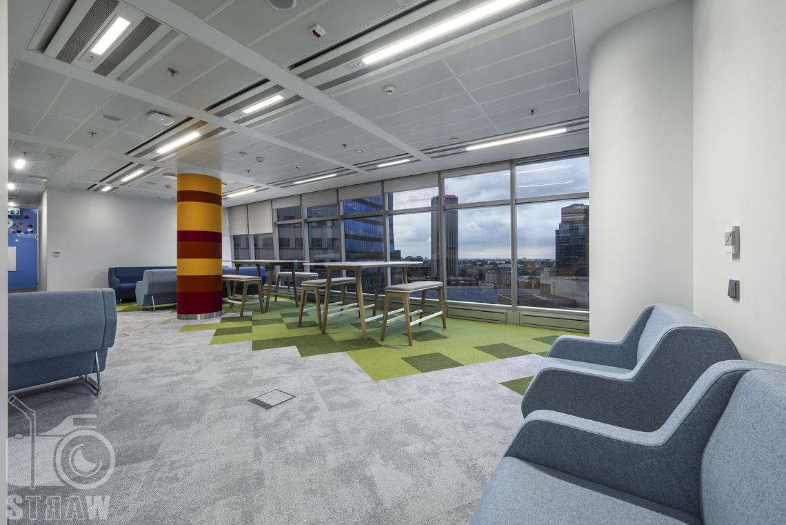 Fotografia wnętrz komercyjnych, zdjęcia biura zlokalizowanego w budynku SkyLight.