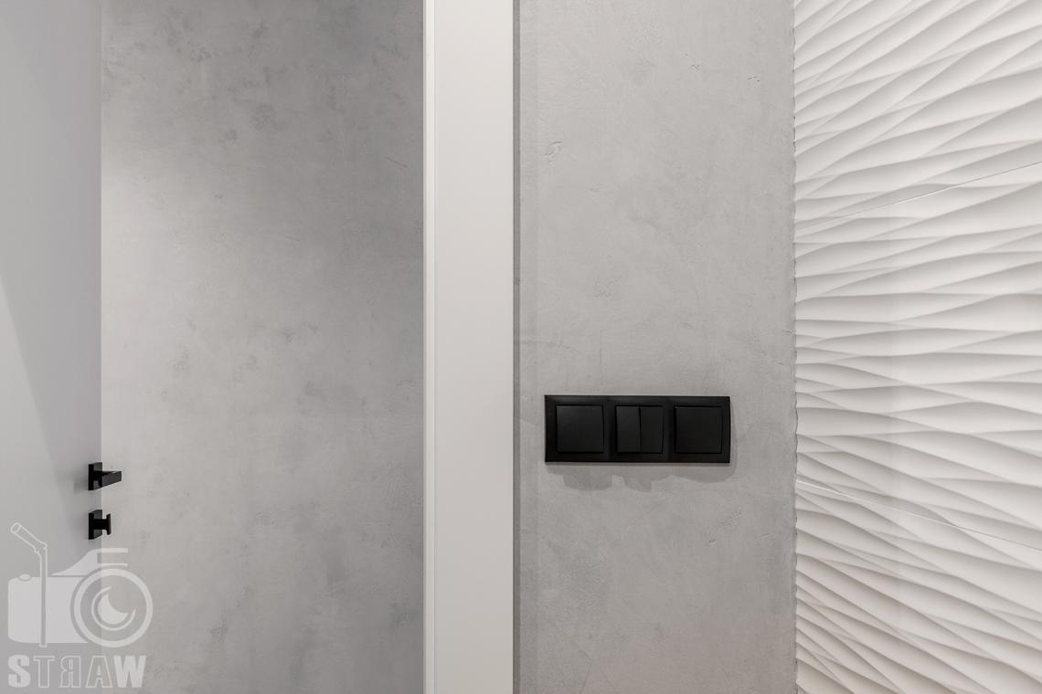 Fotografia wnętrz dla projektanta, zdjęcie prezentujące struktury materiałów w łazience.