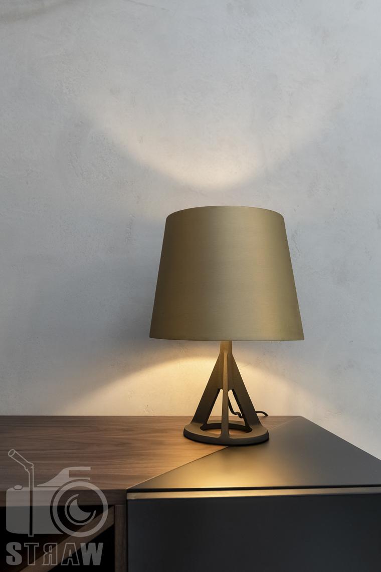 Fotografia wnętrz dla projektanta, zdjęcie lampki w holu.