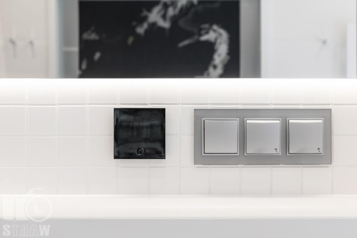 Fotografia wnętrz dla projektanta, zdjęcie detali w łazience.